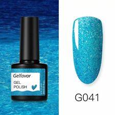 8ml Gel Nail Polish Glitter For Manicure nail art UV LED Nail varnishes Gel lacq