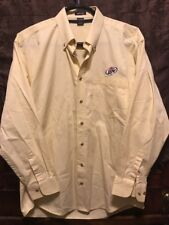 Miller Brewing ~ Lrg ~ Lite Beer River's End L/Slv Oxford Delivery Work Shirt