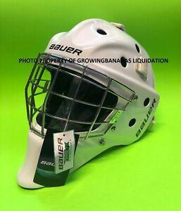 Bauer Bauer NME IX Senior Goalie Mask! SR Helmet Cage White Certified NMEIX