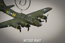 WWII B-17 Bomber Flying Fortress USAF Memphis Belle Christmas Ornament B-17