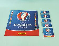 Panini EM Euro 2016 France Leeralbum + 5 Tüten  Sammelalbum Neu & OVP