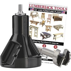 Lumberjack Tools Commercial Series Tenon Cutter Beginner Kit-Model# CSBK1