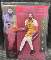 Anthony Davis Pink Los Angeles Lakers SSP 2019-20 Panini Illusions #54 CHAMPS
