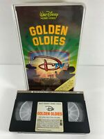 WALT DISNEY DTV Golden Oldies (VHS, 1984) Animated Music Videos Clamshell RARE