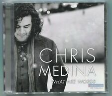 What Are Words by Chris Medina (CD, Nov-2011, Sony Music) American Idol, NEW