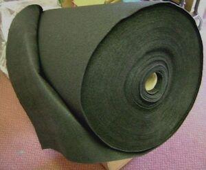 4ft x 150ft Black Speaker Cabinet Carpet For Car or Pro Audio (Complete Roll)