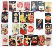 Coca-Cola - SERIE COMPLETA di 25 CARDS COKE - 17th ANNUAL CONVENTION SILVER 6/96