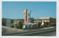Postcard - Eureka, CA - Imperial '400' Motel Hotel - Roadside Attraction - B