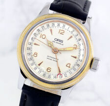 ORIS BIG CROWN 7463 POINTER DATE 25JEWELS SILVER DIAL MEN'S WATCH