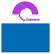 Colorama ROYAL BLUE PVC Colormatt 6400  100cm x 130cm