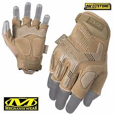 ️191216 - Mechanix Wear Mfl-72-009 M-pact Fingerless Guanti Coyote Medium