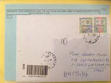 Art. 265 Lettera da Italfor Albania per Latisana (UD) - MISSIONE DI PACE