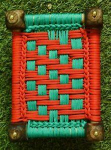 Décoratif Charpai Décor Maison en Bois Juth Khat / Lit (Couleur - Assorti)