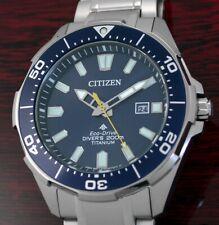 Citizen TITAN ECO-DRIVE Solar Diver's 200 Taucheruhr Herrenuhr BN0201-88L