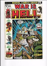 War Is Hell #1 January 1973 Any time... Any place... War Is Hell!!