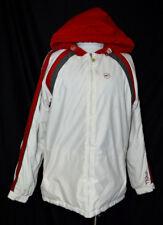 O'Neill Bianco Rosso Grigio Impermeabile Giacca Invernale con Cappuccio