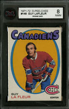 1971-72 1971 OPC O-PEE-CHEE ~#148~GUY LA FLEUR~KSA 8~HALL OF FAME ROOKIE CARD