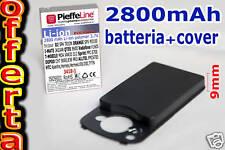 Batteria Li-ionPolymer 2800mAh per HTC HERMES 100 + COVER