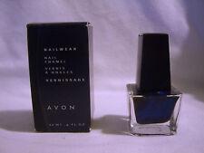 NEW IN BOX- NAILWEAR by AVON  NAIL ENAMEL BLUE COUPE C3 NAIL POLISH