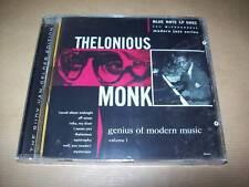 CD-THELONIOUS MONK-GENIUS OF MODERN MUSIC-VOLUME 1-NEW!