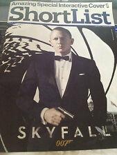 Shortlist MAGAZINE = JAMES BOND Skyfall Daniel Craig Amazing Interactive Cover