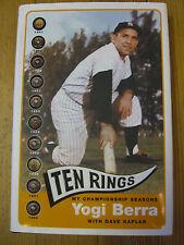 Ten Rings- My Championship Seasons - 1st Ed. -Yogi Berra - Morrow- 2003