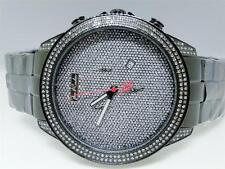 Mens Joe Rodeo Empire Jojo Jojino Rubber Band Diamond Watch JREM8 2.25 Ct