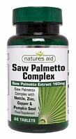 Saw Palmetto Complex 60 Tablets Natures Aid