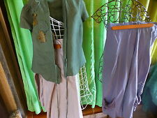 T38-42 lot 3piéces femme pantalon jupe ,corsage