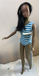Vintage Malibu Christie Barbie Doll 1974 75 AAAfrican American Twist N Turn