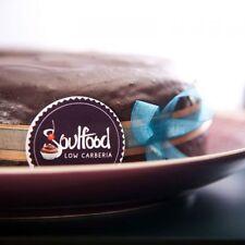 Schokoladen Fudge Kuchen von Soulfood LowCarberia 610g