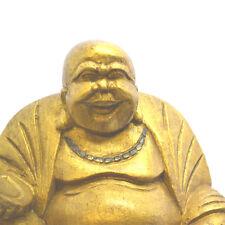 Medium Gold Chinese Laughing Buddha, 16cm