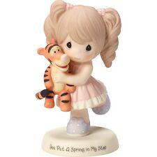 $ New PRECIOUS MOMENTS DISNEY Figurine TIGGER TIGER GIRL FRIEND Porcelain Statue
