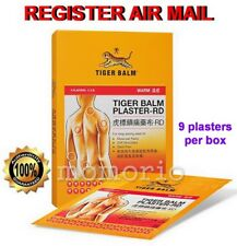 Tiger Balm Plaster-RD Warm Muscular/Back Pain Relief 10cm x 14cm 9 sheet/patches
