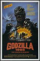 Godzilla 1985 Movie POSTER 11 x 17 Raymond Burr, Keiju Kobayashi, A