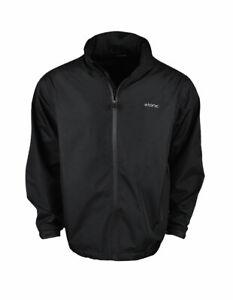 New Etonic Golf- Waterproof Rain Jacket Black Size Medium