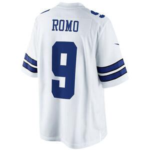 Nike Tony Romo Dallas Cowboys Limited Jersey White
