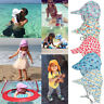 Unisex Kids Sun Hats Baby Boys Girls Cap Summer Beach UV Protection Adjustable