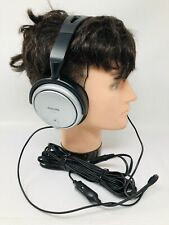 Philips SHP 2500 Headphones with 20 foot cord  Volume Control Clip Tested