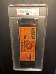 1941 Kentucky Derby General Admission FULL Ticket WHIRLAWAY Triple Crown PSA 5