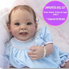 "Reborn kit Punkin unpainted vinyl kit only  so cute - 18"" - w/ FREE GIFT"