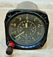 Aircraft Cockpit VD 20 Barometric Altimeter Flight Height Indicator Vintage USSR