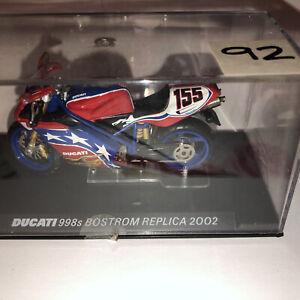 1:24  Bike DUCATI 998s Bostrom Replica 2002
