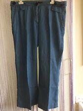 "Size 14/16 waist 36"" hips 46"" inside leg 28"" Jaeger Blue Jeans Crossdress ladies"