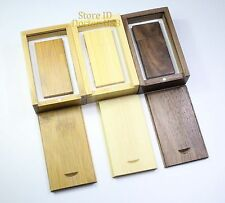 1GB 10 PCS Magnetic Memory Flash Wood USB Drive 2 .0 + Wooden Pendrive Stick 1 G