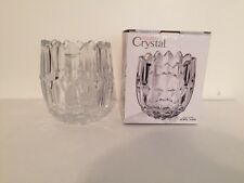 Studio Silversmiths Triangle Top Crystal Jewel Vase