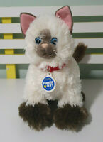 BUILD A BEAR BIRMAN CAT PROMISE PET TEDDY STUFFED ANIMAL 26CM LONG!