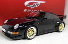 Voitures, camions et fourgons miniatures noirs GTspirit pour Porsche
