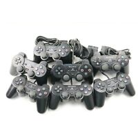 Lot of 7 Seven Faulty Spares Broken Sony Playstation 2 Controllers PS1 PS2