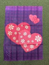 Decorative Flag - Happy Hearts